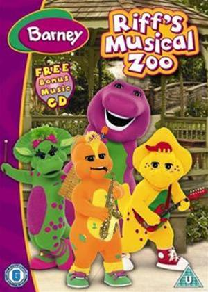 Rent Barney: Riff's Musical Zoo Online DVD Rental