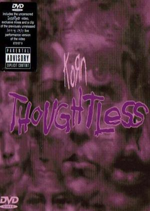 Rent Korn: Thoughtless Online DVD Rental