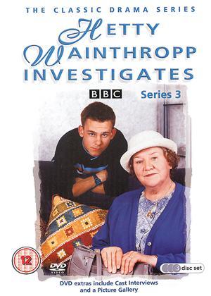 Rent Hetty Wainthropp Investigates: Series 3 Online DVD Rental