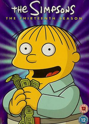 Rent The Simpsons: Series 13 Online DVD Rental