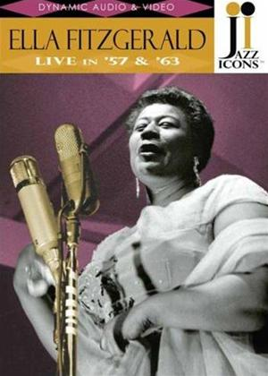 Rent Ella Fitzgerald: Live in '57 and '63 Online DVD Rental