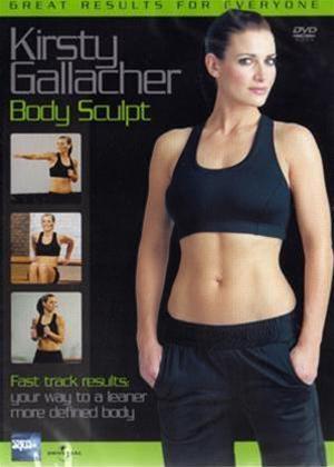 Rent Body Sculpt with Kirsty Gallacher Online DVD Rental