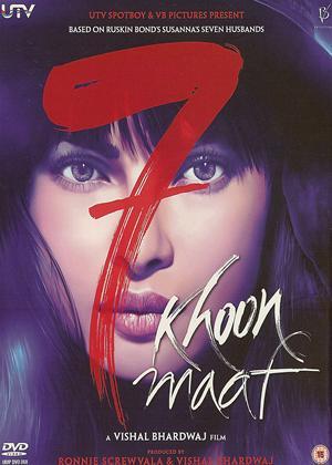 Rent 7 Khoon Maaf Online DVD Rental