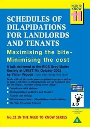 Rent Schedules of Dilapidations for Landlords and Tenants Online DVD Rental