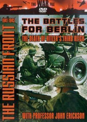 Rent The Russian Front 1941-1945: The Battles for Berlin Online DVD Rental