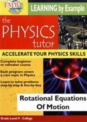 Rent Physics Tutor: Rotational Equations of Motion Online DVD Rental
