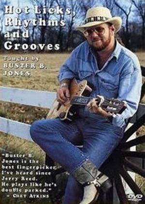 Rent Buster B. Jones: Hot Licks, Rhythm and Groves Online DVD Rental