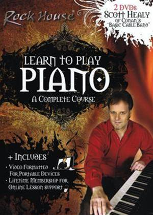 Rent Learn to Play Piano: A Complete Course Online DVD Rental
