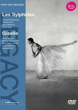 Rent Les Sylphides/Giselle Online DVD Rental
