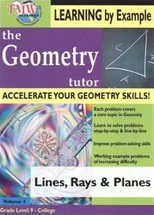 Rent Geometry Tutor: Lines and Planes Online DVD Rental