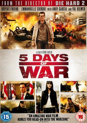 Rent Five Days of War Online DVD & Blu-ray Rental