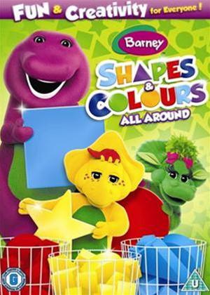 Rent Barney: Shapes and Colours All Around Online DVD Rental