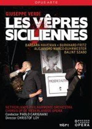 Rent Les Vepres Siciliennes: Koor Van De Nederlandse Opera (Carignani) Online DVD Rental