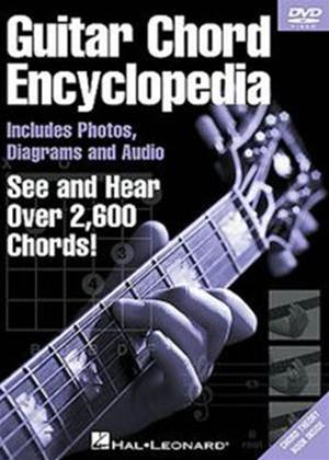 Rent Guitar Chord Encyclopedia Online DVD Rental