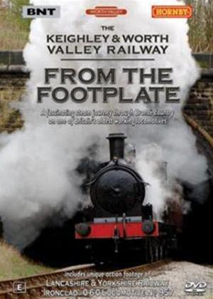 Rent Keighley and Worth Valley Railway from the Footplate Online DVD Rental