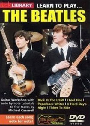 Rent Learn to Play the Beatles: Vol.1 Online DVD Rental