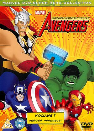 Rent The Avengers: Earth's Mightiest Heroes: Vol.1 Online DVD Rental