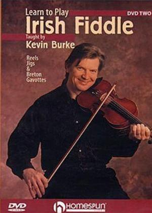 Rent Learn to Play: Irish Fiddle 2: Reels, Jigs and Breton Gavottes Online DVD Rental