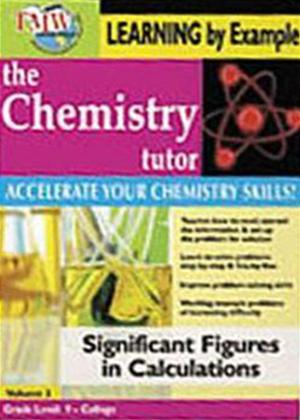 Rent The Chemistry Tutor: Vol.3: Significant Figures in Calculations Online DVD Rental