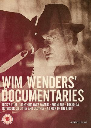 Rent Wim Wenders Collection: Lightning Over Water Online DVD Rental