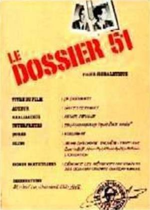 Rent Le Dossier 51 (aka Dossier 51) Online DVD Rental