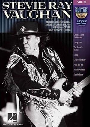 Rent Guitar Playalong: Vol.32: Stevie Ray Vaughan Online DVD Rental