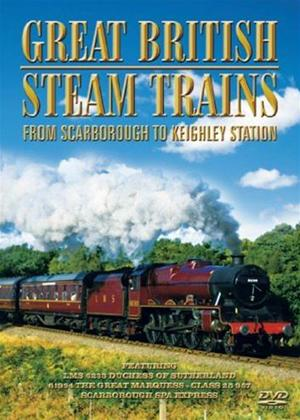 Rent Great British Steam Trains: From Scarborough to Keighley Station Online DVD Rental