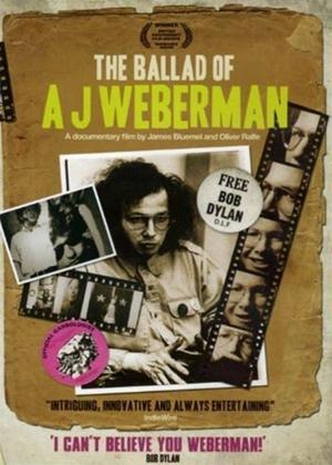 Rent The Ballad of AJ Weberman Online DVD Rental
