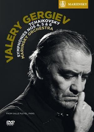 Rent Tchaikovsky: Symphonies Nos. 4, 5 and 6 (Valery Gergiev) Online DVD Rental