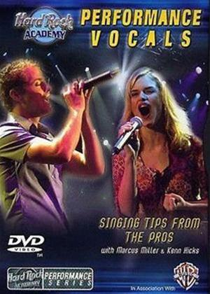 Rent Hardrock Academy Performance Vocals Online DVD Rental
