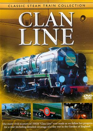 Rent Classic Steam Train Collection: Clan Line Online DVD Rental