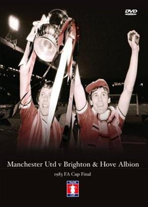 Rent FA Cup Final: 1983: Brighton and Hove Albion Vs Manchester Utd Online DVD Rental
