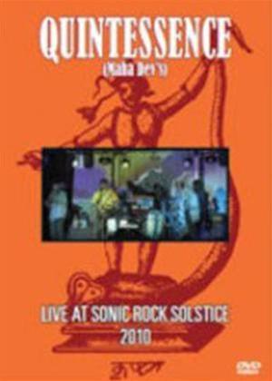 Rent Quintessence: Live at Sonic Rock Solstice 2010 Online DVD Rental