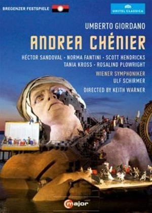 Rent Andrea Chenier: Bregenzer Festspiele Online DVD Rental