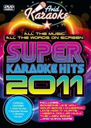 Rent Super Karaoke Hits 2011 Online DVD Rental