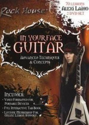 Rent In Your Face Guitar: Advanced Techniques and Concepts Online DVD Rental