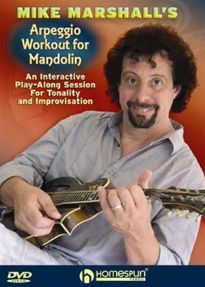 Rent Mike Marshall's Arpeggio Workout for Mandolin Online DVD Rental