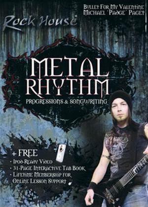 Rent The Rock House Method: Metal Rhythm: Progressions Online DVD Rental