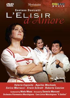 Rent L'elisir D'amore: Arena Sferisterio Online DVD Rental