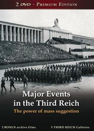 Rent Major Events in the Third Reich Online DVD Rental
