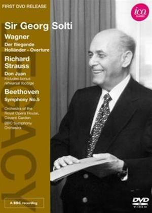 Rent Sir Georg Solti: Wagner/Strauss/Beethoven Online DVD Rental