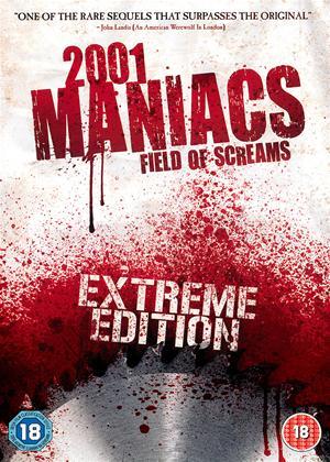 Rent 2001 Maniacs: Field of Screams Online DVD & Blu-ray Rental