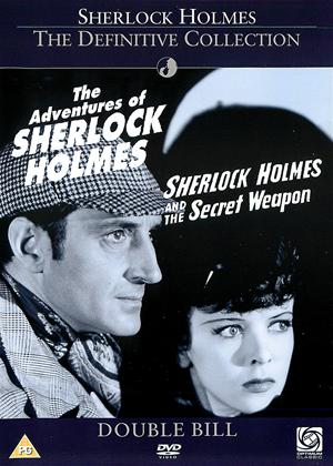 Rent The Adventures of Sherlock Holmes / Sherlock Holmes and the Secret Weapon Online DVD Rental