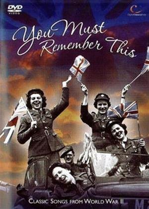 Rent You Must Remember This: Songs That Won the War Online DVD Rental
