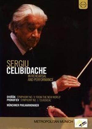 Rent Celibidache Conducts Prokofiev and Dvorak Online DVD Rental