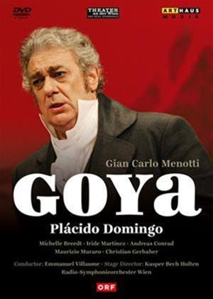 Rent Goya: Theater an Der Wien (Domingo) Online DVD Rental