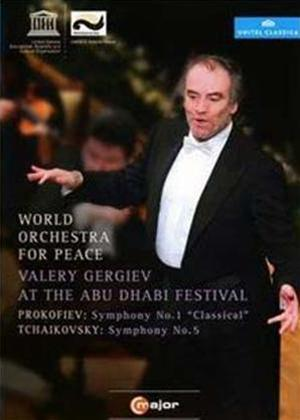 Rent World Orchestra for Peace: Valery Gergiev at the Abu Dhabi Online DVD Rental