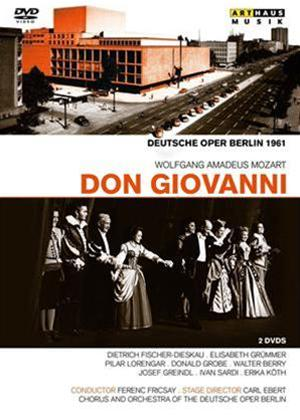 Rent Don Giovanni: Deutsche Oper Berlin (Fricsay) Online DVD Rental