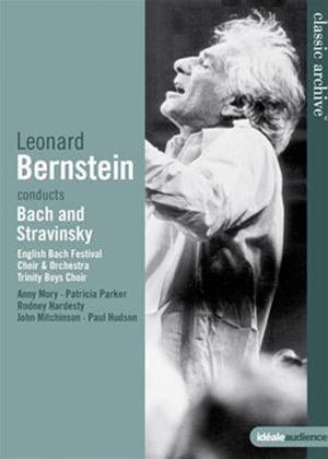 Rent Leonard Bernstein: Conducts Bach and Stravinsky Online DVD Rental