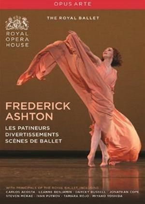 Rent Frederick Ashton: Les Patineurs / Divertissement / Scenes De Ballet Online DVD Rental